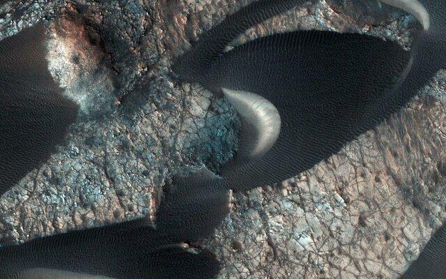 تپههای ماسهای مریخ,اخبار علمی,خبرهای علمی,نجوم و فضا