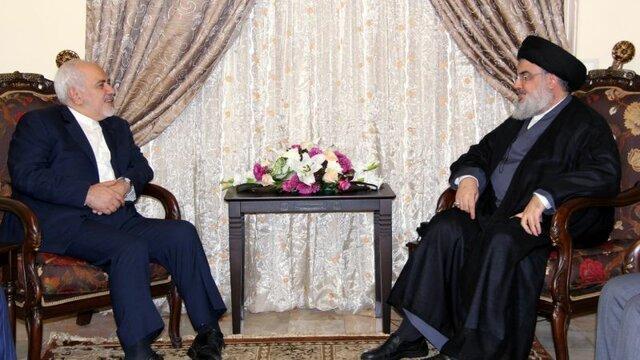 دیدار سید حسن نصرالله و ظریف,اخبار سیاسی,خبرهای سیاسی,سیاست خارجی