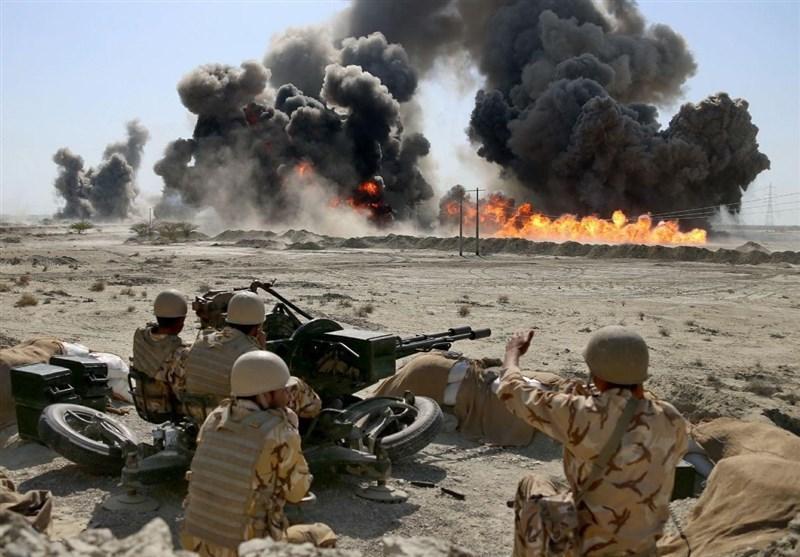 آغاز مرحله نهایی رزمایش اقتدار۹۷ با حضور فرمانده ارتش