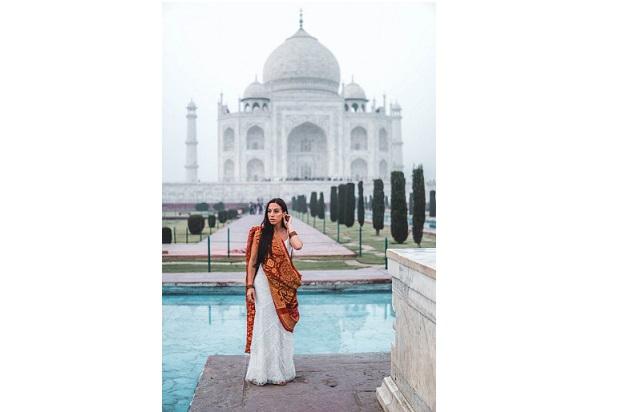 سفر به دور دنیا با لباس عروسی,اخبار جالب,خبرهای جالب,خواندنی ها و دیدنی ها