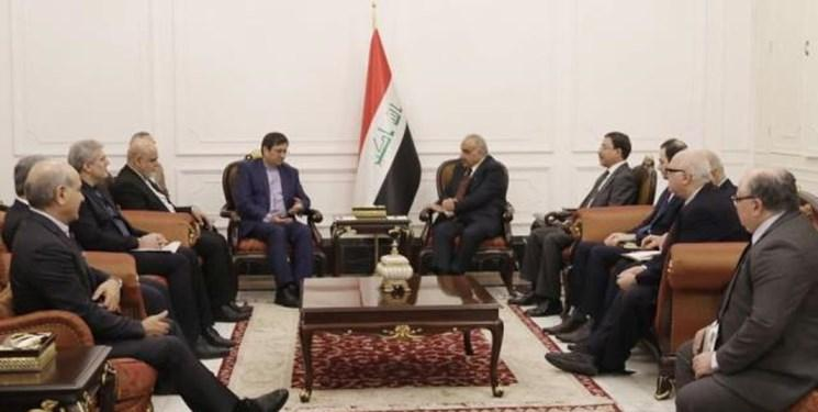 دیدار عادل عبدالمهدی و عبدالناصر همتی,اخبار سیاسی,خبرهای سیاسی,سیاست خارجی