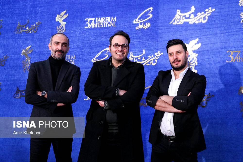 تصاویر روز دهم جشنواره فیلم فجر,عکس های جشنواره فجر 37,تصاویر جشنواره فیلم فجر سال 97