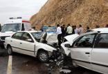 تصادف در شهرستان جم,اخبار حوادث,خبرهای حوادث,حوادث