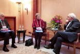 دیدار ظریف و اخضر ابراهیمی و مری رابینسون,اخبار سیاسی,خبرهای سیاسی,سیاست خارجی