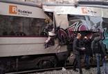 برخورد قطار در بارسلون,اخبار حوادث,خبرهای حوادث,حوادث