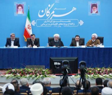 حسن روحانی در هرمزگان,اخبار سیاسی,خبرهای سیاسی,دولت