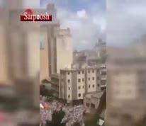 فیلم/ تظاهرات گسترده مخالفان دولت مادورو در ونزوئلا