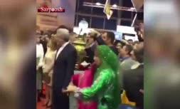 ویدئو/ بازدید پادشاه اسپانیا از غرفه ایران در نمایشگاه فیتور2019 مادرید