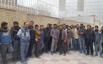 تجمع کارگران فولاد,کار و کارگر,اخبار کار و کارگر,اعتراض کارگران