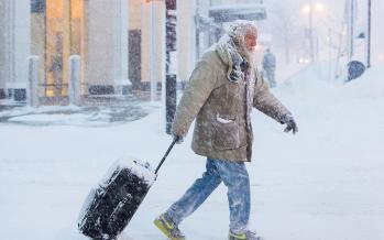 تصاویر سرما در آمریکا,عکسهای سرما و یخبندان در آمریکا,عکس های هوای بسیار سرد آمریکا