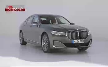 فیلم/ نمای داخلی خودرو لوکس BMW 7 Series