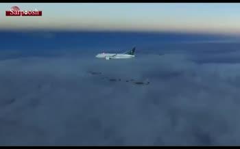 اسکورت خاص هواپیمای «محمد بن سلمان» در راه عزیمت به اسلام آباد