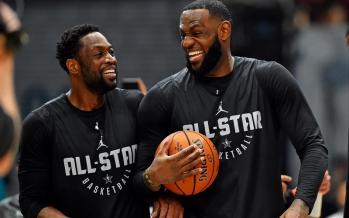 تصاویر نشست خبری NBA All Star,عکسهای ستاره های لیگ بسکتبال آمریکا,عکس های ستاره های لیگ NBA