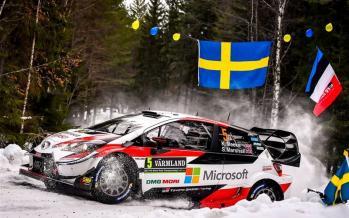 تصاویر مسابقات رالی در سوئد,عکسهای مسابقات رالی قهرمانی سوئد,عکس های مسابقات رالی قهرمانی 2019