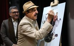 تصاویر نکوداشت منوچهر آذری,عکس های منوچهر آذری,تصاویر مراسم نکوداشت بازیگر ایرانی