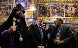 تصاویر نخستوزیر ارمنستان در اصفهان,عکس های نخستوزیر ارمنستان و همسرش,تصاویر نیکول پاشینیان در اصفهان