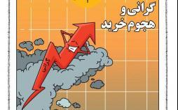 کاریکاتور گرانی و هجوم خرید,کاریکاتور,عکس کاریکاتور,کاریکاتور اجتماعی
