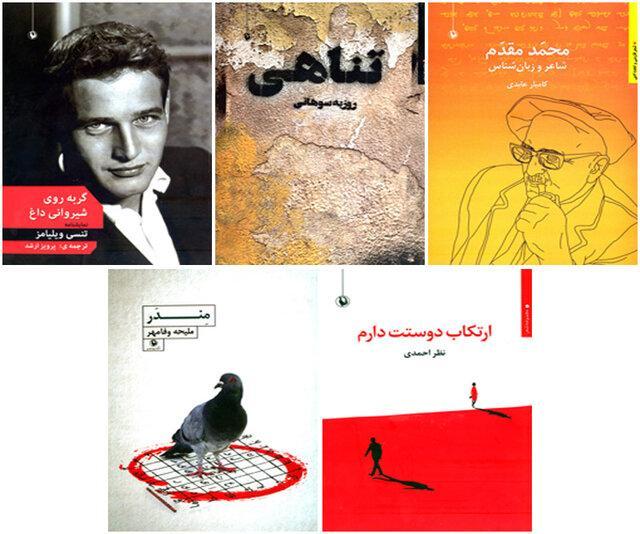 ,اخبار فرهنگی,مجموعه شعر ارتکاب دوستت دارم,نمایشنامه گربه روی شیروانی داغ