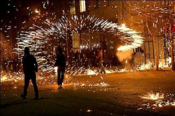 حوادث چهارشنبه سوری,اخبار حوادث,خبرهای حوادث,حوادث امروز
