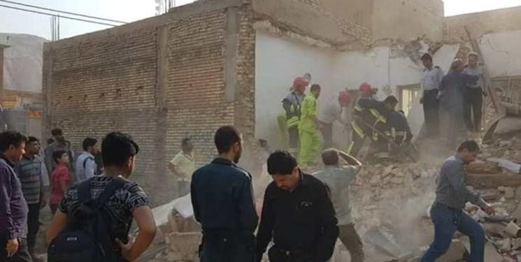 انفجار گاز در شهریار/ ۵ نفر مصدوم و یک تن کشته شدند؛ نجات جان دو کودک با حضور سگهای زندهیاب
