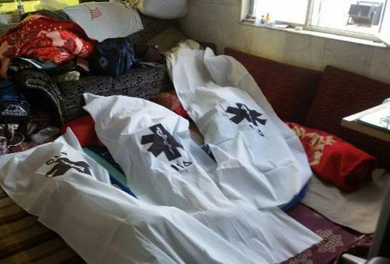 نشت گاز جان سه عضو خانواده بجنوردی را گرفت
