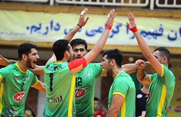 لیگ والیبال ایران,اخبار ورزشی,خبرهای ورزشی,والیبال و بسکتبال