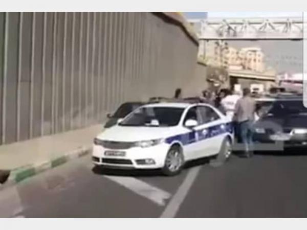 بزرگراه نیایش تهران,اخبار حوادث,خبرهای حوادث,حوادث امروز