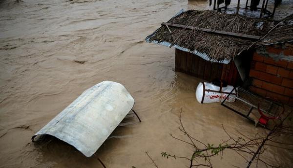 مناطق سیل زده در مازندران,اخبار حوادث,خبرهای حوادث,حوادث طبیعی