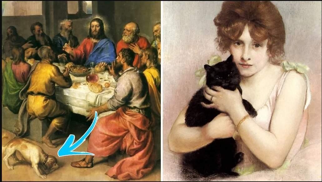 97 12 c35 857 - حیوانات در تابلوهای نقاشی قرون وسطا چه مفهومی داشتند؟