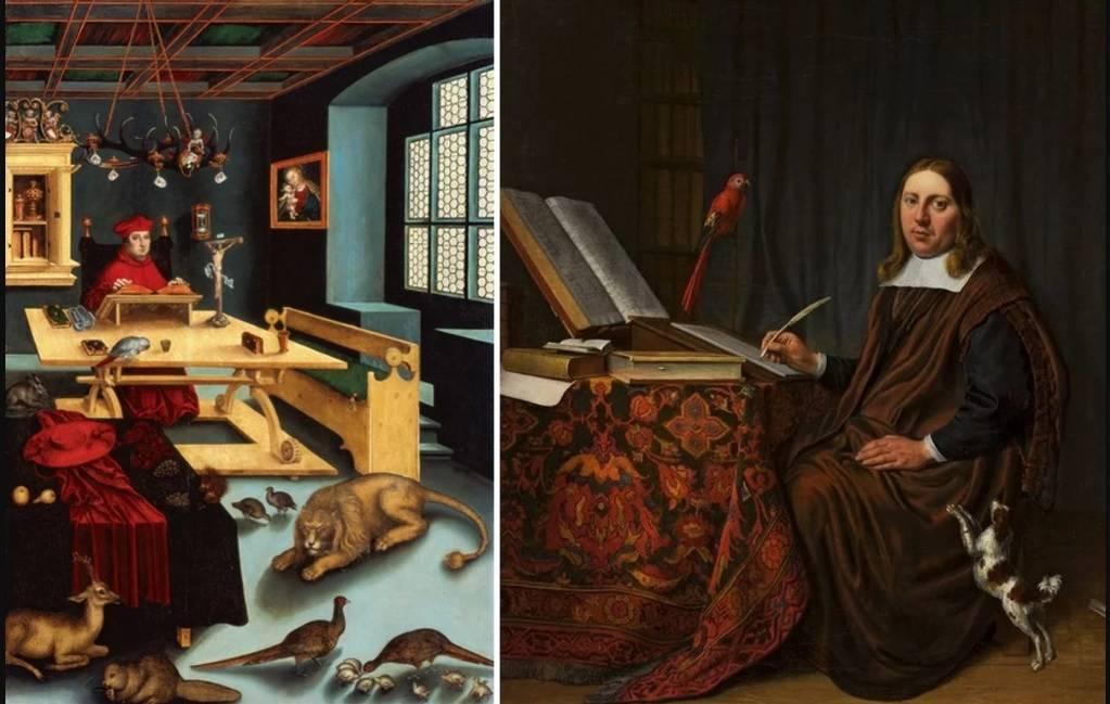97 12 c35 863 - حیوانات در تابلوهای نقاشی قرون وسطا چه مفهومی داشتند؟
