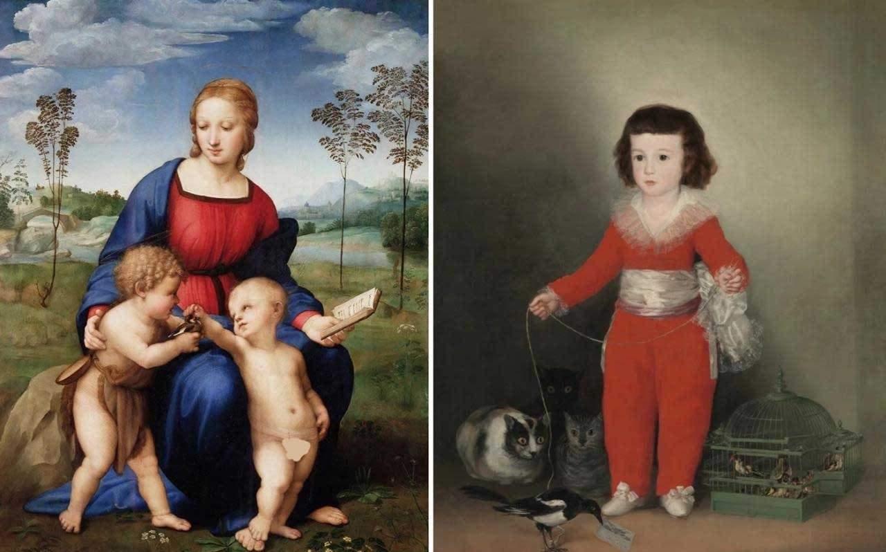 97 12 c35 865 - حیوانات در تابلوهای نقاشی قرون وسطا چه مفهومی داشتند؟