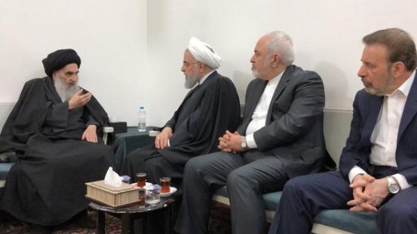 دیدار آیتالله سیستانی و حسن روحانی,اخبار سیاسی,خبرهای سیاسی,سیاست خارجی