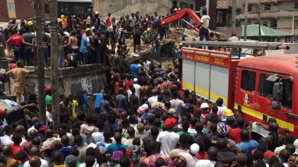 ریزش ساختمان مدرسه در نیجریه,اخبار حوادث,خبرهای حوادث,حوادث امروز