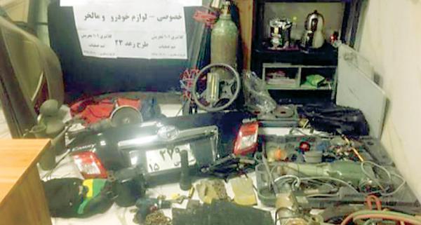 سرقت خودروی سفیر از سفارتخانه,اخبار حوادث,خبرهای حوادث,جرم و جنایت