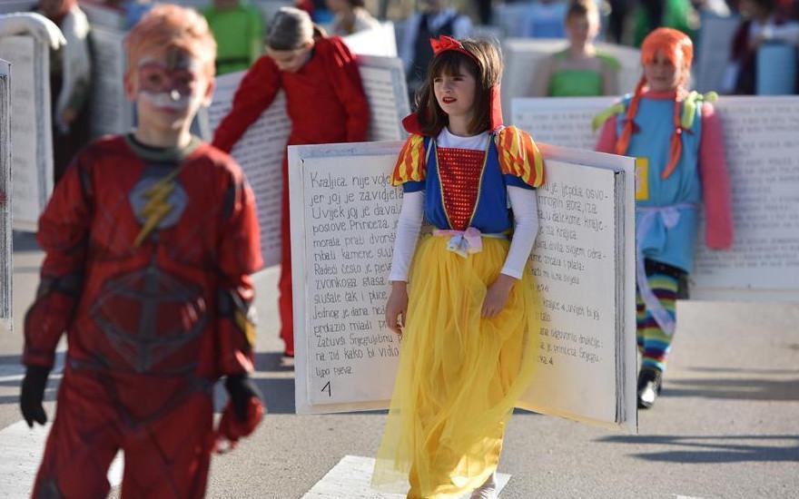 97 12 c36 397 - رژه کودکان انیمیشنی در کرواسی/ تصاویر
