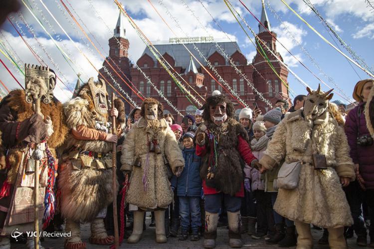 عکس جشن خداحافظی با زمستان,تصاویرجشن خداحافظی با زمستان,عکس مراسم باستانی وداع با زمستان