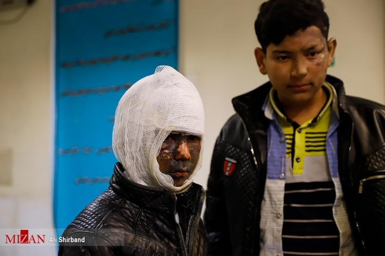 تصاویر حادثه چهارشنبه سوری 97,عکس های مصدومین حادثه چهارشنبه سوری سال 97,تصاویری از مجروحین حادثه چهارشنبه آخرسال