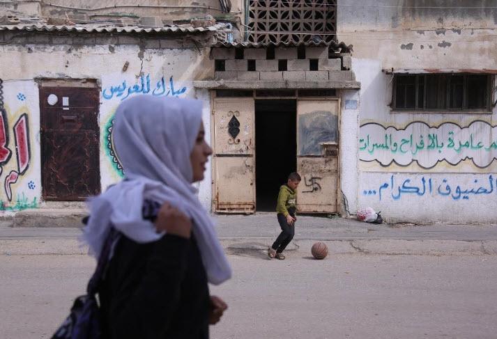 عکس دختران غزه,تصاویر دختران غزه,عکس دختران فلسطینی در نوار غزه