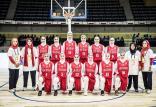 تیم ملی بسکتبال بانوان,اخبار ورزشی,خبرهای ورزشی,ورزش بانوان