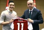 اردوغان و اوزیل,اخبار ورزشی,خبرهای ورزشی,اخبار ورزشکاران