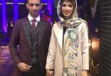 ازدواج حسین پاپی و الهام فرهمند,اخبار ورزشی,خبرهای ورزشی,اخبار ورزشکاران