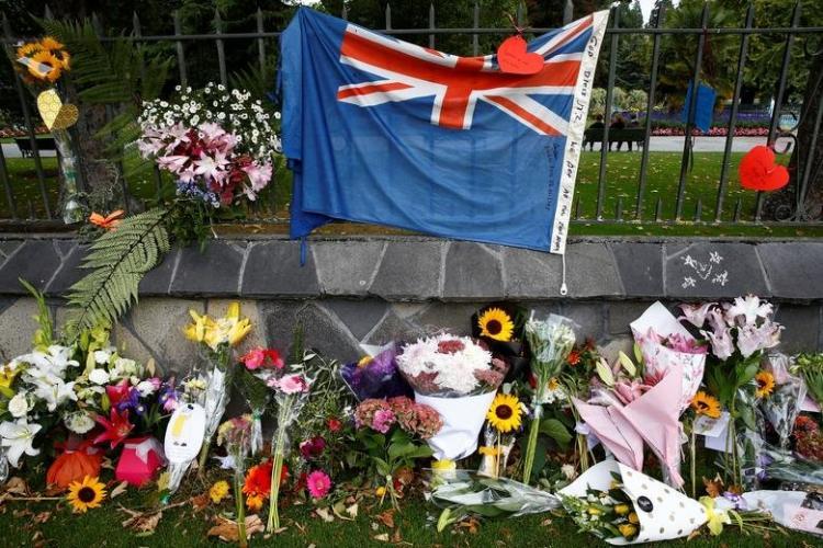 تصاویر مراسم یادبود قربانیان جانباختگان مساجد نیوزیلند,عکس های یادبود قربانیان حمله نیوزلند,تصاویر مردم نیوزیلند