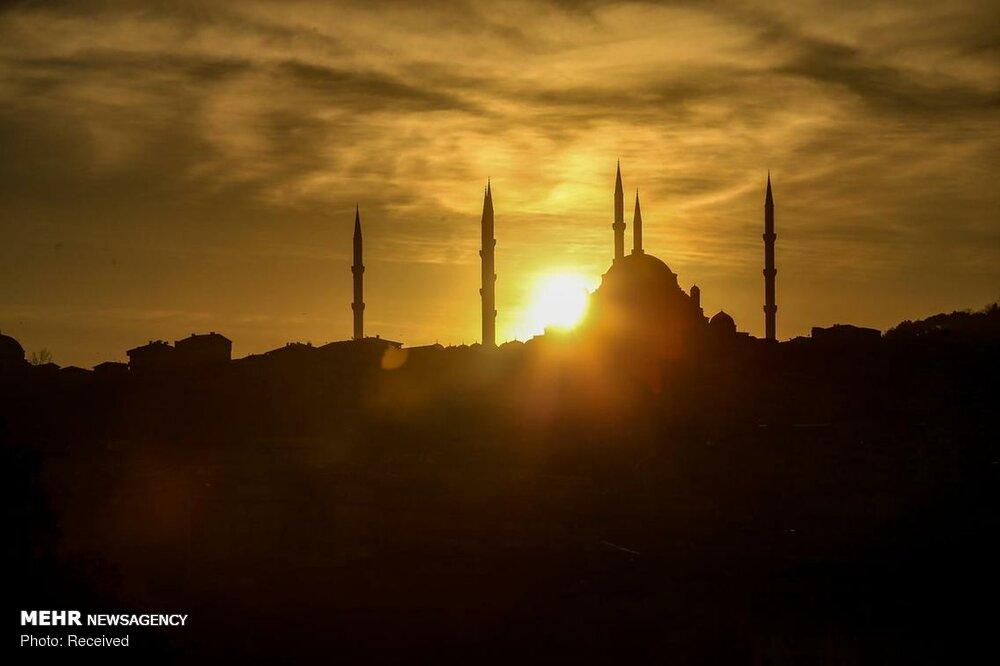 تصاویرمسجد کاملیکا در استانبول,عکس های افتتاح مسجد کاملیکا در استانبول,تصاویرمسجد کاملیکا