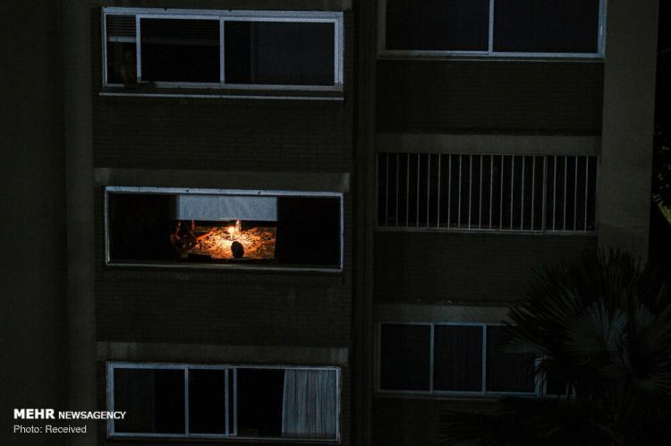 تصاویر قطعی برق در ونزوئلا,عکس های قطعی برق در ونزوئلا, عکس های قطعی برق
