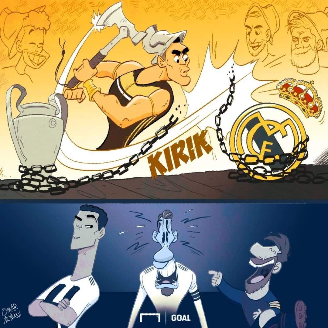 کاریکاتور پایان فرمانروایی سفیدپوشان,کاریکاتور,عکس کاریکاتور,کاریکاتور ورزشی