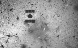 پرتاب مواد منفجره به سمت سیارک ریوگو,اخبار علمی,خبرهای علمی,نجوم و فضا