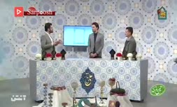 فیلم/ حضور امید نورافکن و حسین ماهینی در ویژه برنامه نوروزی
