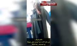 فیلم/ تذکر به مهناز افشار به خاطر حجاب