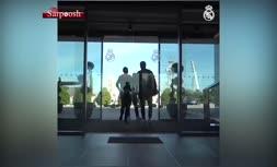 ویدئو/ اولین حضور زیدان در تمرینات رئال مادرید