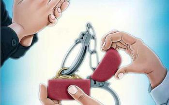 کاریکاتور سرانجام خواستگاری در مکان عمومی,کاریکاتور,عکس کاریکاتور,کاریکاتور اجتماعی